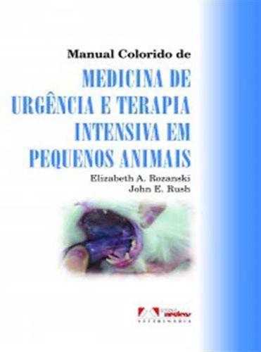 Livro Manual Colorido De Medicina De Urgência E Terapia Intensiva