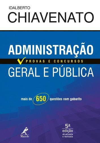 Livro Administração Geral E Pública