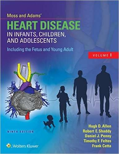 Livro Moss & Adams Heart Disease In Infants Children And Adolescen