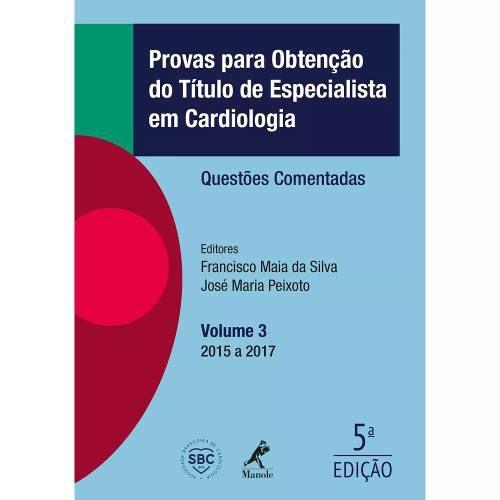 Livro Provas Para Obtenção Do Título De Espec Em Cardiologia