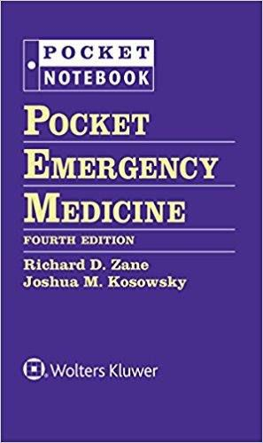 Livro Pocket Emergency Medicine