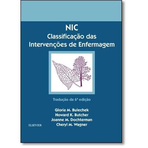 Livro Nic Classificação Das Intervenções De Enfermagem