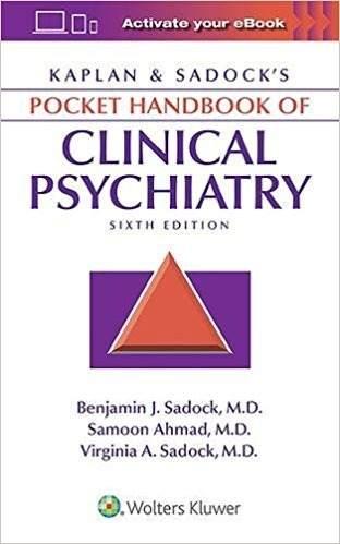 Livro Kaplan & Sadocks Pocket Handbook Of Clinical Psychiatry