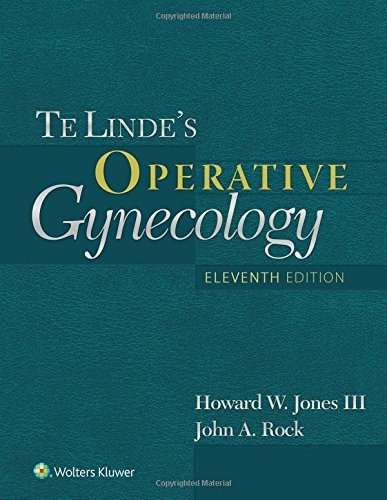 Livro Telindes Operative Gynecology