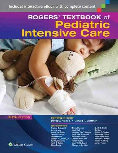 Livro Rogers Textbook Of Pediatric Intensive Care