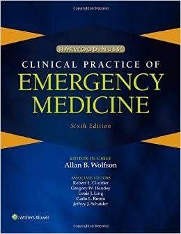 Livro Harwood-nuss Clinical Practice Of Emergency Medicine