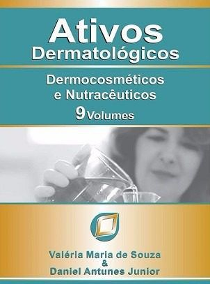 Livro Ativos Dermatológicos - 9 Volumes