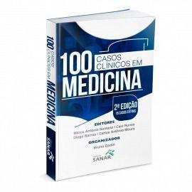 Livro 100 Casos Clínicos Em Medicina - Esquematizados E Comentados