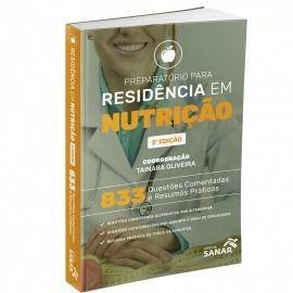 Livro Preparatório Para Residência Em Nutrição 833 Questões
