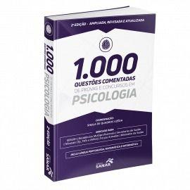 Livro 1.000 Questões Comentadas Em Psicologia 2ª Edição