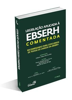Livro Legislação Aplicada À Ebserh Comentada - 2ª Edição