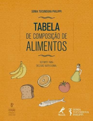 Livro Tabela De Composição De Alimentos
