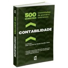 Livro 500 Questões Comentadas De Provas E Concursos Em Contabilidade