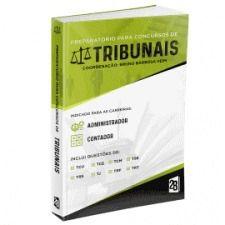 Livro Preparatório Para Concursos De Tribunais