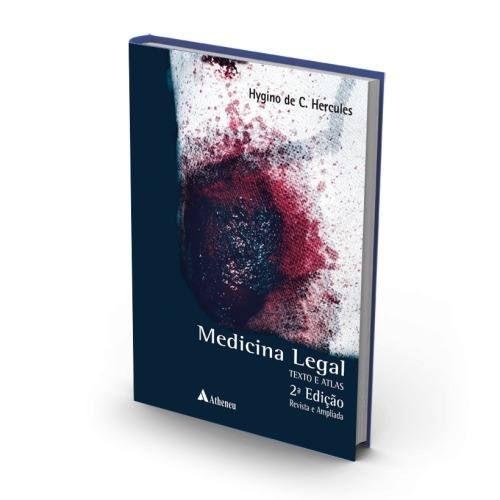 Livro Medicina Legal Atlas E Texto - Hércules 2ª Edição Medicina