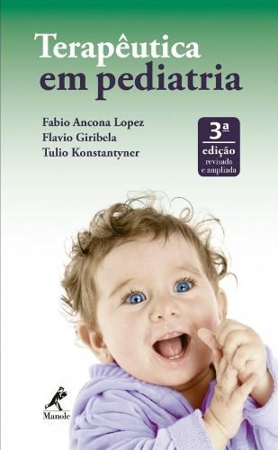 Livro Terapêutica Em Pediatria