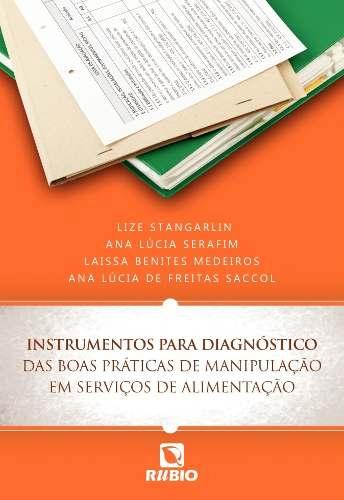 Livro Instrumentos Para Diagnóstico Das Boas Práticas De Manipulação