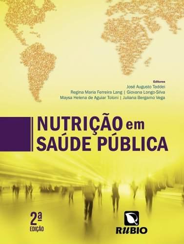 Livro Nutrição Em Saúde Pública