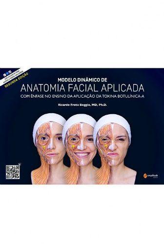 Modelo Dinâmico De Anatomia Facial Aplicada - Boggio