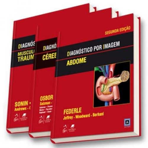 Livro Diagnóstico Por Imagem - Coleção 3 Volumes