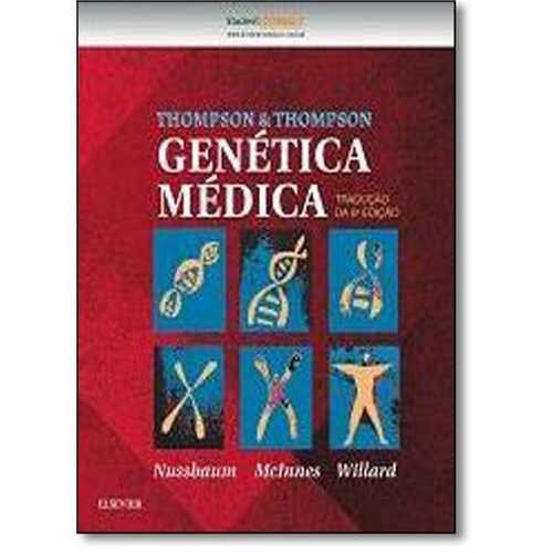Livro Thompson & Thompson Genética Médica