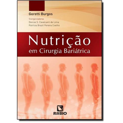 Livro Nutrição Em Cirurgia Bariátrica