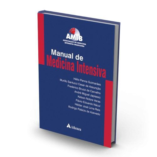 Livro Manual De Medicina Intensiva - Amib