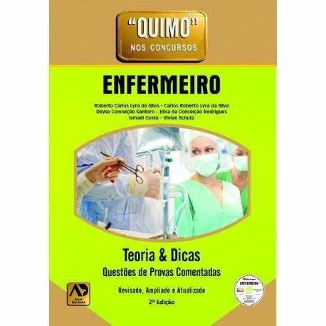 Livro Quimo - Enfermeiro (Com Cd-Rom) Novo