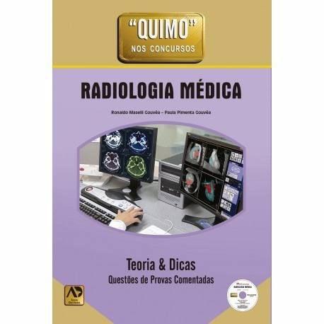 Livro Quimo Radiologia Médica Teoria Dicas Questões Com Dvd