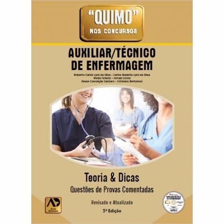 Quimo Auxiliar/Técnico De Enfermagem - 3ª Edição
