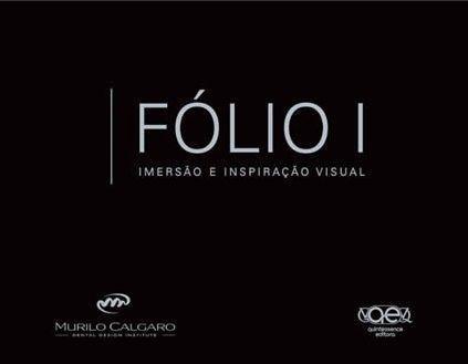 Livro Folio I - Imersao E Inspiraçao Visual