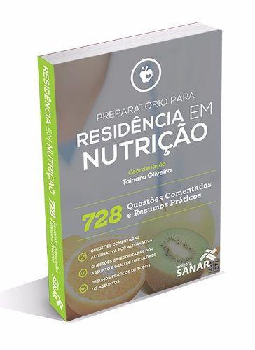 Livro Preparatório Para Residência Em Nutrição - 728 Questões