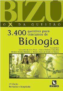 Livro Bizu 3.400 Questões Para Concursos De Biologia