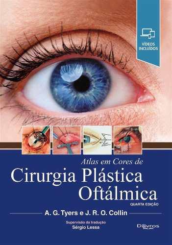 Atlas Em Cores De Cirurgia Plástica Oftálmica Anúncio com variação