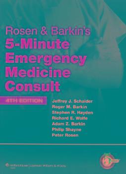 Livro 5-minute Emergency Medicine Consul