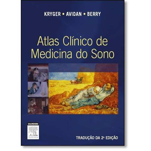 Livro Atlas Clínico De Medicina Do Sono