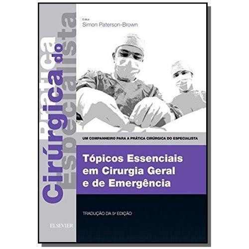 Livro Topicos Essenciais Em Cirurgia Geral E De Emergencia -