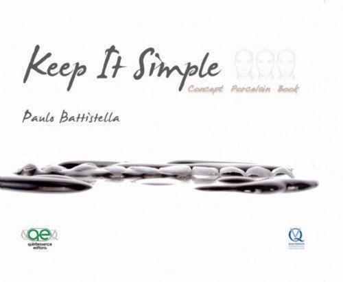 Livro- Keep It Simple - Concept Porcelain Book - Battistella