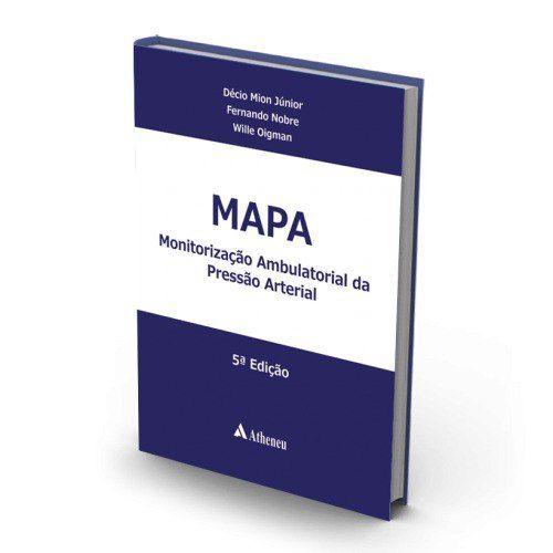 Livro Monitoração Ambulatorial Da Pressão Arterial (Mapa) - 5A. Ed