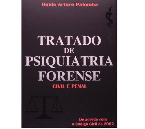 Livro Tratado De Psiquiatria Forense Civil E Penal
