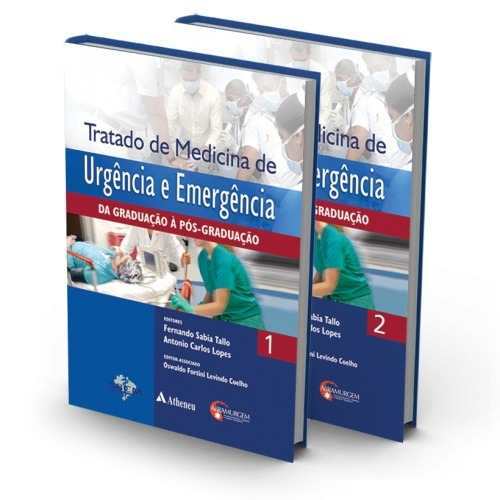 Livro Tratado De Medicina De Urgência E Emergência