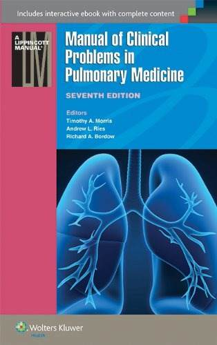 Livro Manual Of Clinical Problems In Pulmonary Medicine