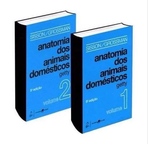 Livro Anatomia dos Animais Domésticos 2 vols, Robert Getty