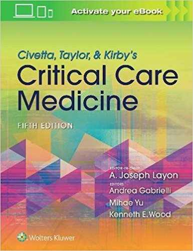Livro Civetta Taylor & Kirbys Critical Care Medicine