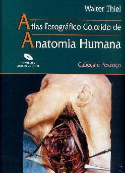Livro Atlas Fotográfico Colorido De Anatomia Humana