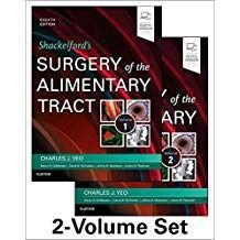 Shackelfords Surgery Of The Alimentary Tract 2 Vols