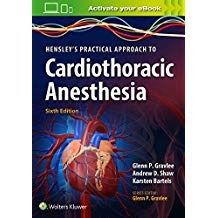 Livro Hensleys Practical Approach To Cardiothoracic Anesthesia