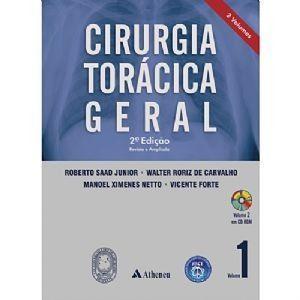 Cirurgia Torácica Geral - 2 Volumes
