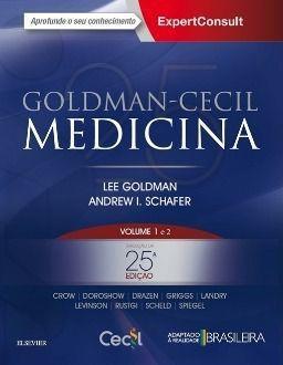 Livro Goldman-cecil Medicina - Vol. 1 E 2 - 25ª Ed. 2018