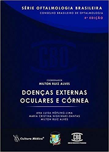 Livro Doenças Externas Oculares E Córnea 4ª Ed.